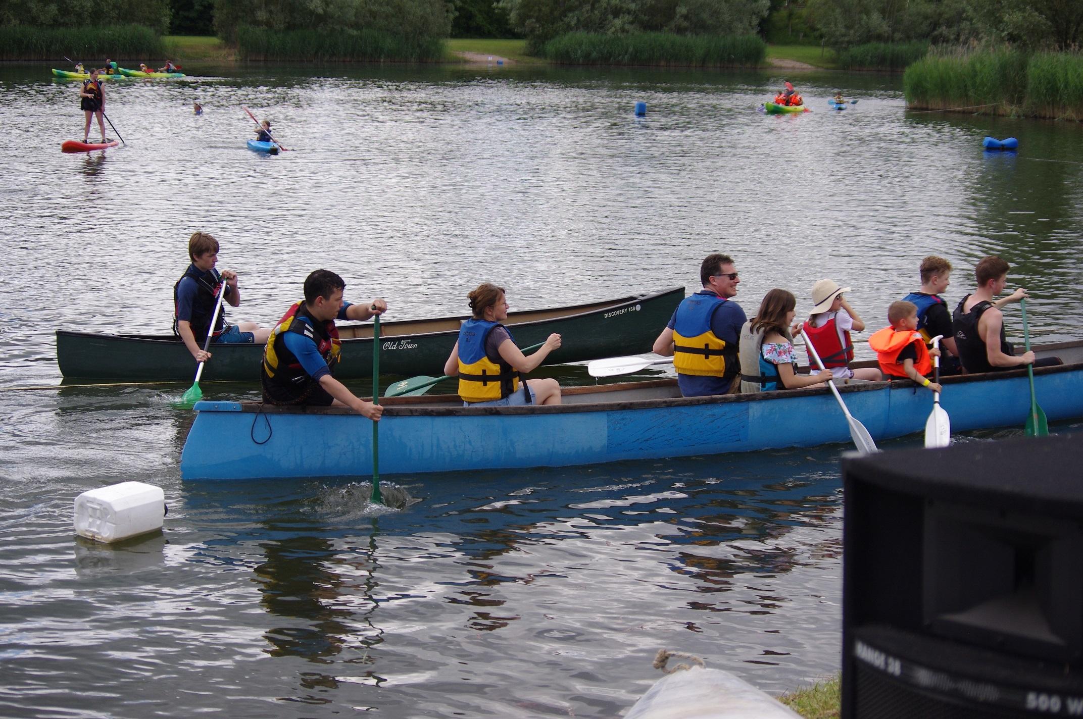 portes ouvertes au CKCRAS, club de canoë-kayak et sports à la pagaie de Rosières-aux-Salines